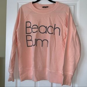 JCrew beach bum sweatshirt
